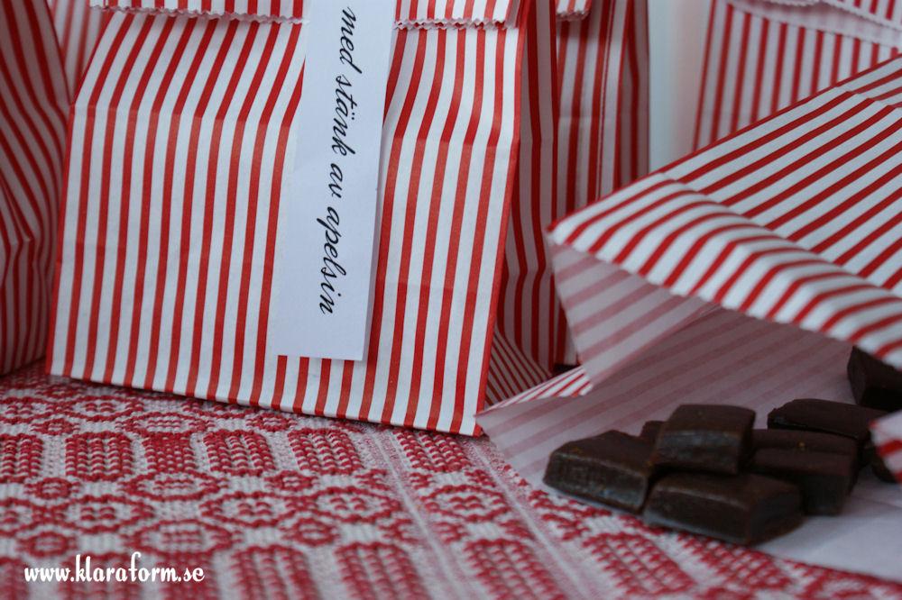 Hemmagjord chokladkola