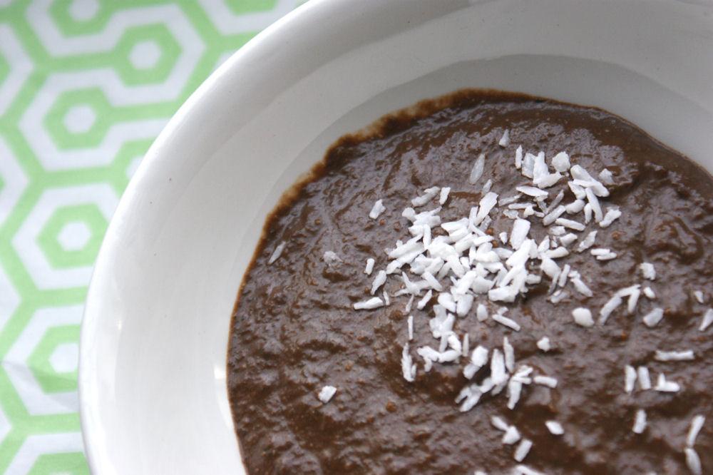Nyttigare chokladpudding