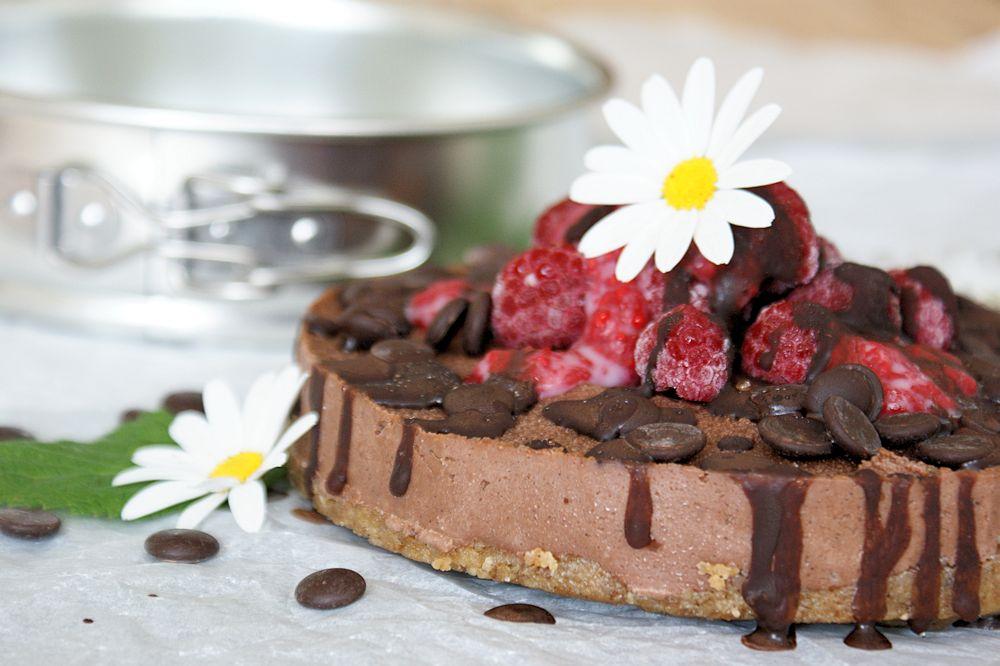 Chokladtårta Raw Vegan Glutenfri