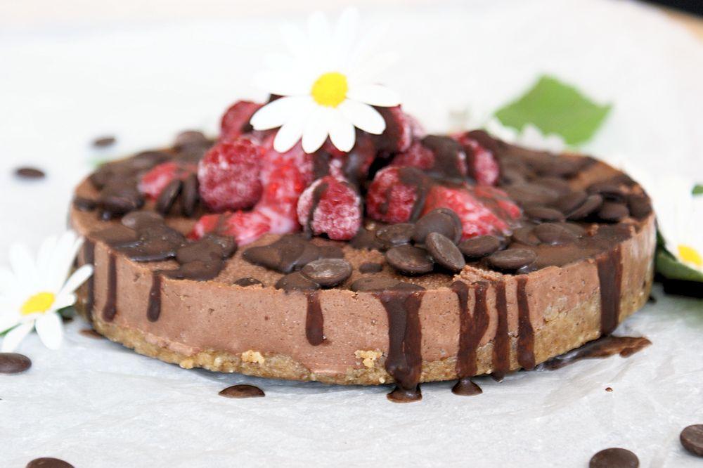 vegan tårta choklad